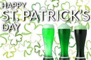 Happy St. Patrick's Day! Come Celebrate being Irish (even if you aren't)